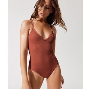 312486274c1 l*space Swim | Lspace Anja Lace Up One Piece Suit | Poshmark